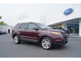 2011 Bordeaux Reserve Red Metallic Ford Explorer Limited #49856149