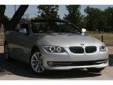 2011 Titanium Silver Metallic BMW 3 Series 328i Convertible #49905078