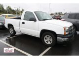 2004 Summit White Chevrolet Silverado 1500 Regular Cab #49904851