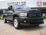 2004 Black Dodge Ram 1500 SLT Sport Quad Cab 4x4 #49905123