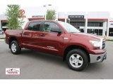 2010 Salsa Red Pearl Toyota Tundra CrewMax 4x4 #49904873