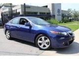 2010 Vortex Blue Pearl Acura TSX Sedan #49904953