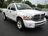 2006 Bright White Dodge Ram 1500 Big Horn Edition Quad Cab #49905216