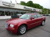 2008 Inferno Red Crystal Pearl Chrysler 300 Touring #49905067