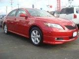 2008 Barcelona Red Metallic Toyota Camry SE #49905237