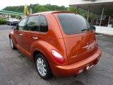 Tangerine Pearl Chrysler PT Cruiser in 2007