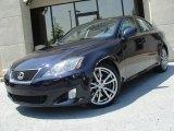 2008 Black Sapphire Pearl Lexus IS 350 #49904987