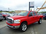 2007 Flame Red Dodge Ram 1500 ST Quad Cab 4x4 #49904991