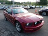 2007 Ford Mustang Redfire Metallic