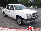 2005 Summit White Chevrolet Silverado 1500 LS Crew Cab #49937347