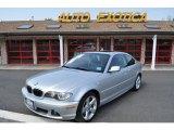 2004 Titanium Silver Metallic BMW 3 Series 325i Coupe #49937818