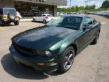 2008 Ford Mustang Highland Green Metallic