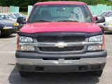 2004 Victory Red Chevrolet Silverado 1500 LS Extended Cab #49937669