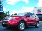 2011 Red Candy Metallic Ford Explorer XLT #49950322