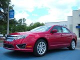 2011 Red Candy Metallic Ford Fusion SEL #49950327