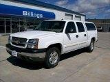 2005 Summit White Chevrolet Silverado 1500 LT Crew Cab 4x4 #49950573
