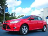 2012 Race Red Ford Focus SE Sport Sedan #49950330