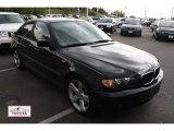 2004 Black Sapphire Metallic BMW 3 Series 325i Sedan #49950205