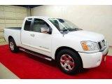 2007 White Nissan Titan SE King Cab #49950339
