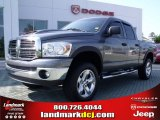2008 Mineral Gray Metallic Dodge Ram 1500 Big Horn Edition Quad Cab 4x4 #49950345
