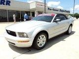 2007 Satin Silver Metallic Ford Mustang V6 Premium Convertible #49950482