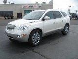 2011 White Diamond Tricoat Buick Enclave CXL #49950505