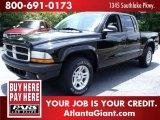 2004 Black Dodge Dakota SLT Quad Cab #49950756