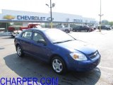 2007 Laser Blue Metallic Chevrolet Cobalt LS Sedan #49950764