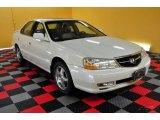 2003 White Diamond Pearl Acura TL 3.2 #49950516