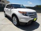 2011 White Platinum Tri-Coat Ford Explorer XLT #49950385