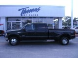 2005 Black Ford F350 Super Duty Lariat Crew Cab 4x4 Dually #49950531