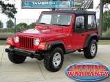 2006 Flame Red Jeep Wrangler SE 4x4 #49950652