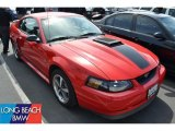 2003 Torch Red Ford Mustang Mach 1 Coupe #49950412