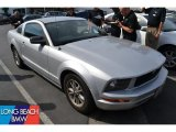 2006 Satin Silver Metallic Ford Mustang V6 Deluxe Coupe #49950417