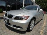 2006 Titanium Silver Metallic BMW 3 Series 330xi Sedan #49992435