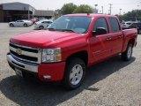 2011 Victory Red Chevrolet Silverado 1500 LT Crew Cab 4x4 #49992438