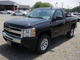 2011 Black Chevrolet Silverado 1500 Regular Cab 4x4 #49992439