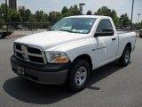 2011 Bright White Dodge Ram 1500 ST Regular Cab #49992470