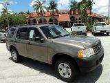 2003 Mineral Grey Metallic Ford Explorer XLS #49992031