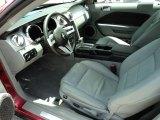 2005 Ford Mustang V6 Premium Coupe Light Graphite Interior