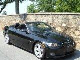 2008 Jet Black BMW 3 Series 335i Convertible #49992035
