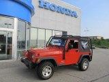 2006 Impact Orange Jeep Wrangler SE 4x4 #49992043
