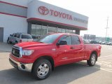 2010 Radiant Red Toyota Tundra TRD Double Cab 4x4 #49992053