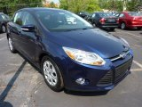 2012 Kona Blue Metallic Ford Focus SE 5-Door #49992069