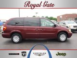 2003 Deep Molten Red Pearl Chrysler Town & Country LX #49991949