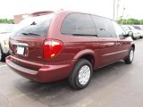 2003 Chrysler Town & Country Deep Molten Red Pearl