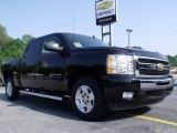 2011 Black Chevrolet Silverado 1500 LT Crew Cab #49992224
