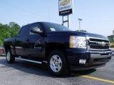 2011 Imperial Blue Metallic Chevrolet Silverado 1500 LT Crew Cab #49992226
