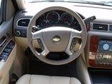 2011 Chevrolet Silverado 1500 LTZ Crew Cab Steering Wheel