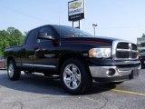 2005 Black Dodge Ram 1500 Big Horn Edition Quad Cab #49992231